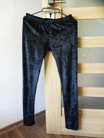 Aksamitne spodnie firmy gothicana by EMP rozm xs s