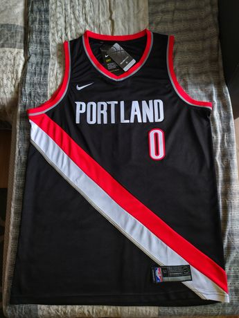 Koszulka NBA Nike Swingman Portland Trail Blazers #0 Damian Lillard
