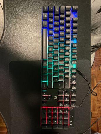 Vendo Teclado e rato RGB