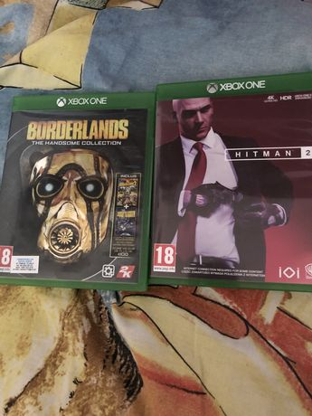 Hitman 2 i Borderland Xbox One/ series X