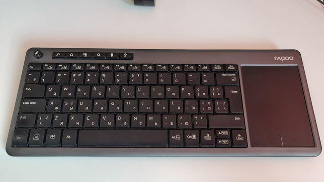 Беспроводная клавиатура Rapoo K2600 с тачпадом
