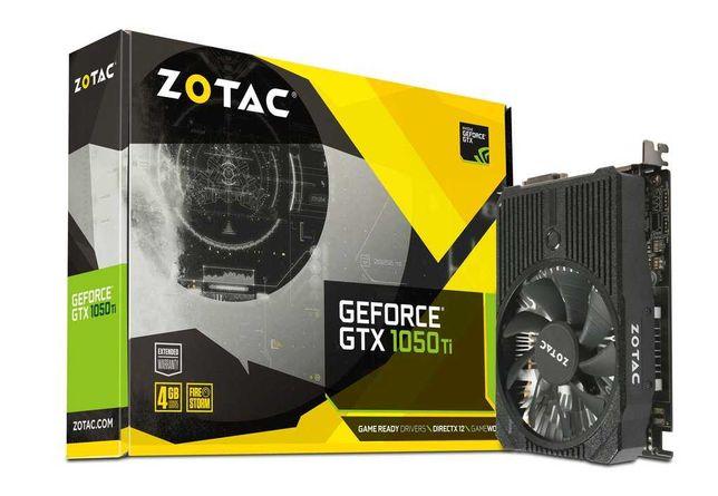 Видеокарта GeForce GTX1050Ti, Zotac, 4Gb GDDR5