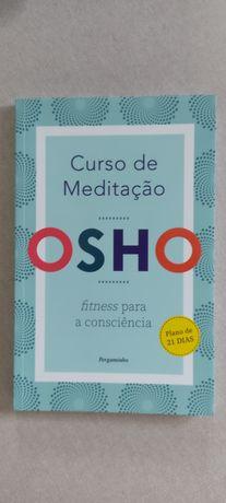 """Livro """"Curso de meditação"""" de Osho"""