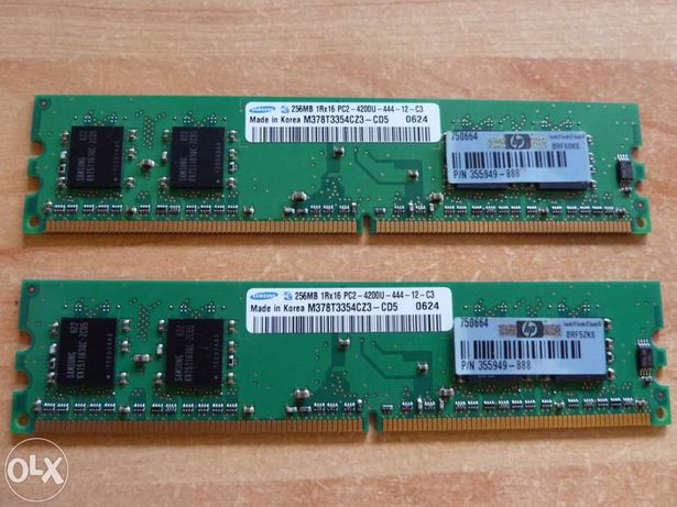 Memória Samsung 256MB DDR2 (533MHZ)