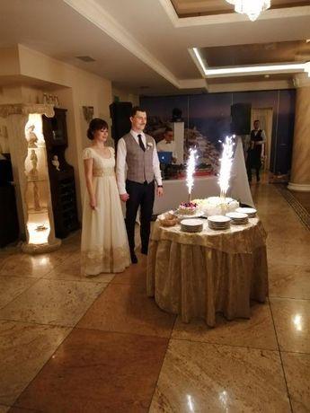 Suknia ślubna Papilio 1127, ecru rozmiar 36