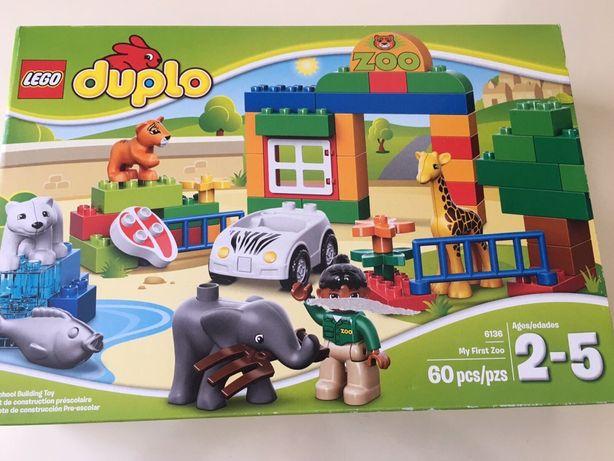 Новый LEGO конструктор Мой первый зоопарк