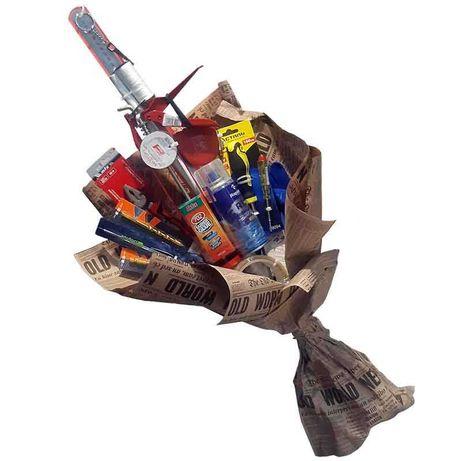 Оригинальный подарок - букет из инструментов
