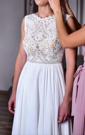 Suknia ślubna-ivory