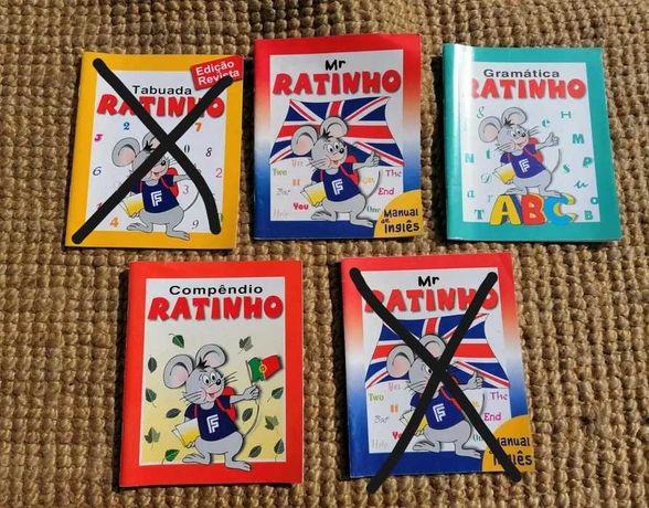 Mrs. Ratinho - Tabuada, Gramática, Compêndio e Língua Inglesa