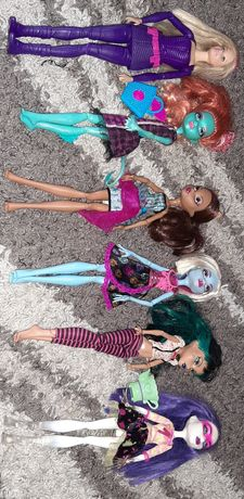 Lalki Monster High i Barbie