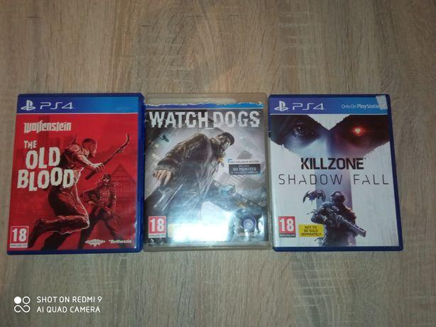 Игры в дисках для PS4