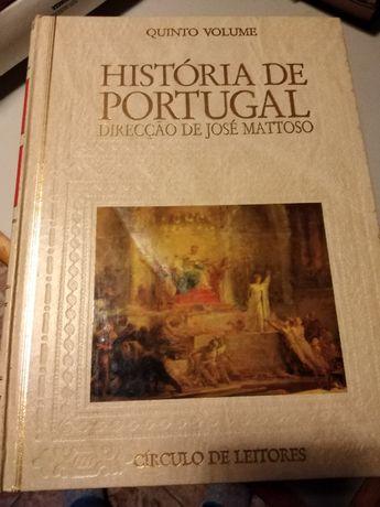 Livros Historia de Portugal de José Mattoso oferta de Portes de envio