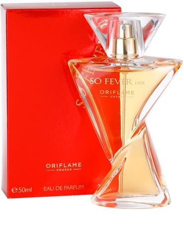 SO FEVER HER woda perfumowana oriflame