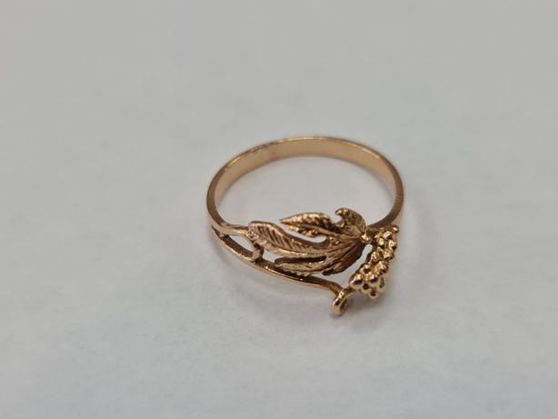 Klasyczny złoty pierścionek damski/ 585/ 2.19 gram/ R15/ Lite złoto