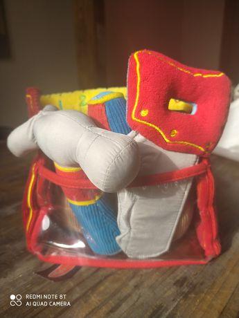 Melissa & Dough zabawka zestaw pluszowych narzędzi w skrzynce