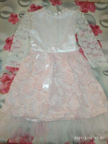 Красивое платье на рост 122