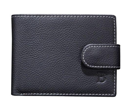 Мужской бумажник Кошелек кожаный Портмоне 11см*9см*1,5 см