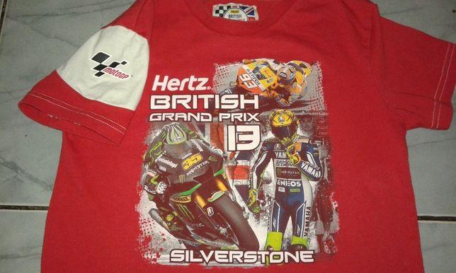 футболка motoGP -Silverstone, подростковая