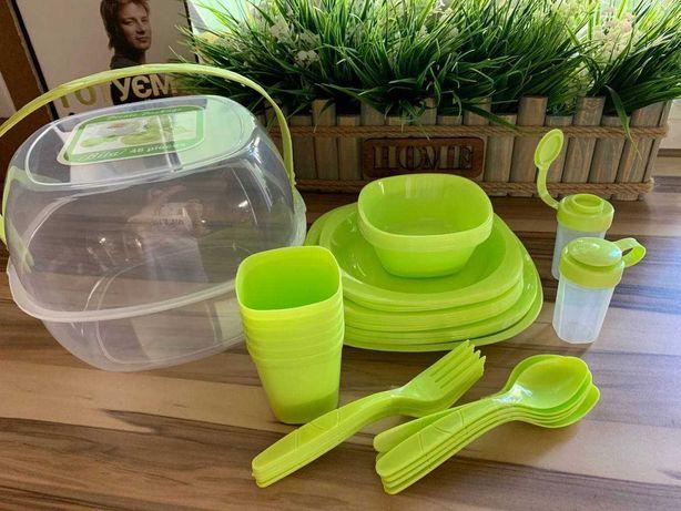 набор посуды для пикника в наличии