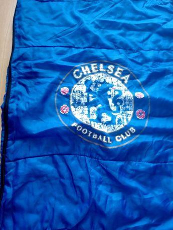 Cienki śpiwór F.C. Chelsea, całkowicie rozsuwany