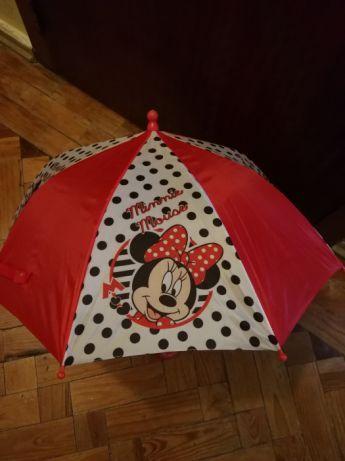 Chapéu de chuva de criança Minnie ou Cars sem marcas de uso