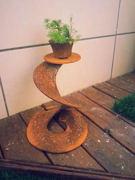 Escultura kusamono bonsai