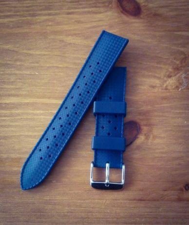 Pasek do zegarka 20mm tropic silikonowy
