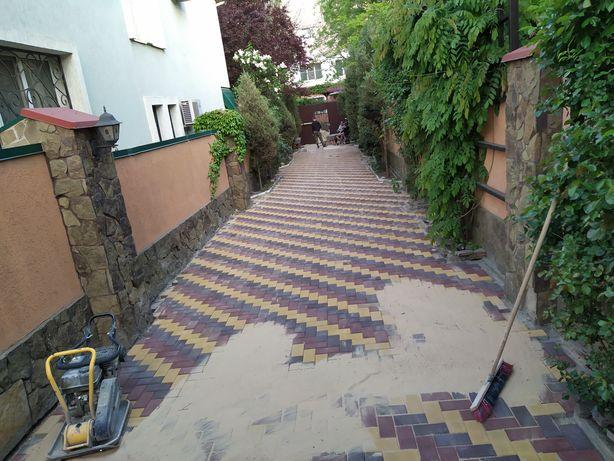 Укладка тротуарной плитки изготовление тротуарной плитки