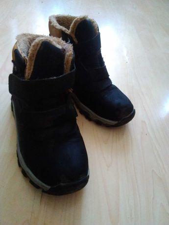 Buty zimowe dla chłopca rozmiar 34