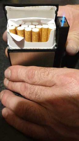 vendo caixa de tabaco com isqueiro incorporado