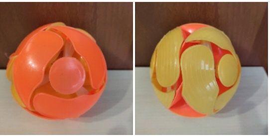 Шар трансформер, шар перевёртыш 10 см, мяч,  мячик