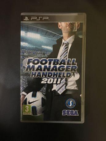 Jogo Football Manager 2011 para PSP