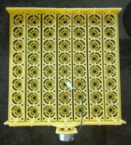 Tabuleiro viragem automática 56 ovos incubadora