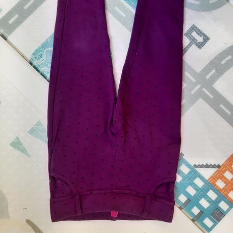 Теплые плотные лосины с начесом 116 см 5 6 лет девочку осенние штаны