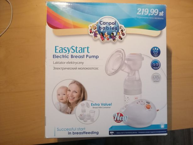 Laktator Canpol Babies Easy Start //Elektryczny i na baterie//