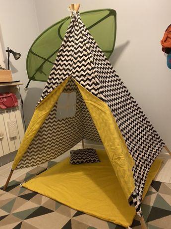 Namiot TIPI TEEPEE wys. 180 cm szer. 110x110 cm NOWY