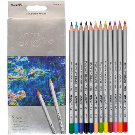 Набор цветных карандашей Marco 12 цветов