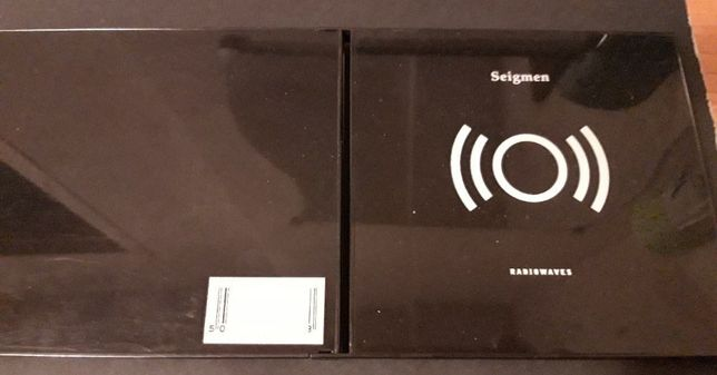 Seigmen – Radiowaves CD 1997 Limited Edition, Black Jewel Case