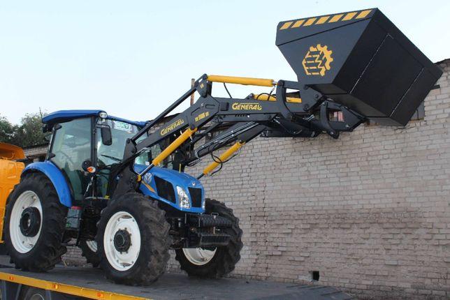 Быстросъемный погрузчик КУН General Euro на трактор New Holland