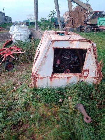 Kompresor z silnikiem diesla ifa