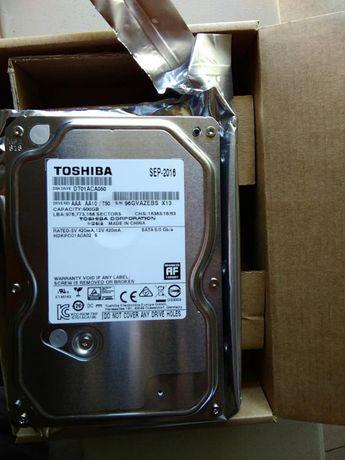 """Disco duro Toshiba 500gb SATA III 3.5"""" - Novo"""