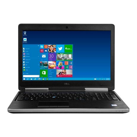 Ноутбук DELL PRECISION 7520 15.6 I7 6820HQ 16RAM 500HDD 256NVME