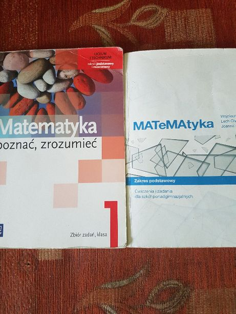 Matematyka poznać, zrozumieć. Zbiór zadań 1 : zakres podst i rozsz