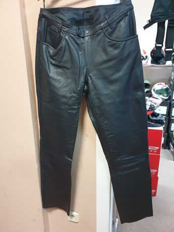 Wyprzedaż!! Spodnie motocyklowe skórzane OZONE DAFT XXL