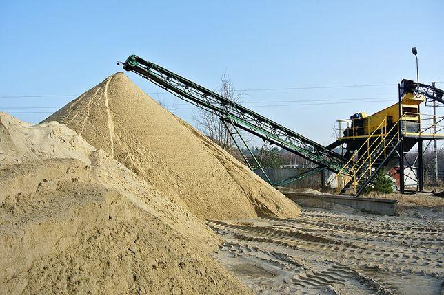 Piach, piasek płukany, siany do wylewek - transport
