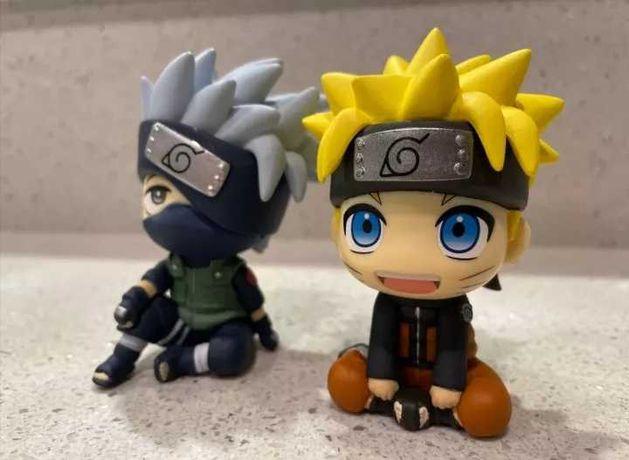 Figuras de anime, figuras Naruto e Kakashi