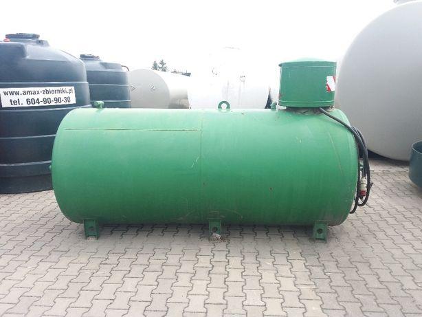 Stalowy zbiornik 3500l z dystrybutorem- paliwo diesel napęd CPN - AMAX