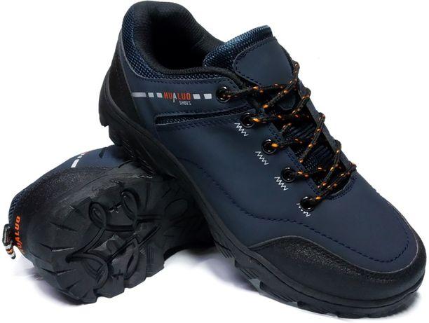 Buty sportowe trekkingowe męskie adidasy granatowe 41-46 uniwersalne