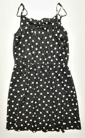 H&M_dziewczęca letnia sukienka_11-12L 152 cm