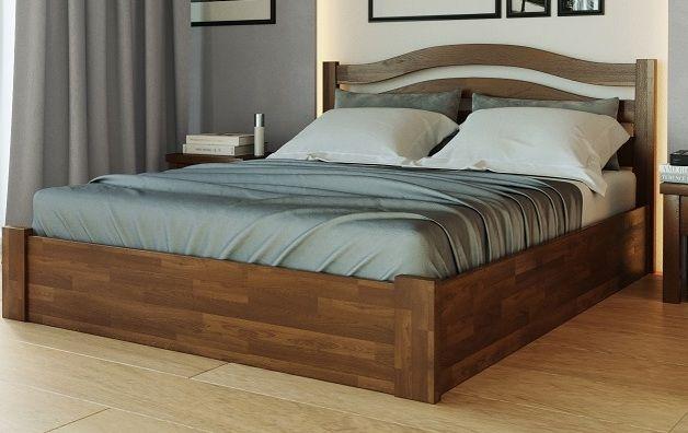160х200 Ліжко з підйомним механізмом, деревина Бук, Нове